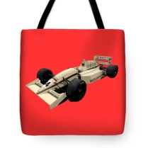 F1 B Racer Art tote bag
